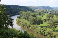 Neckar Valley, Germany Stock Photography