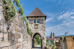 Neckarhaldentor in Esslingen am Neckar, Germany Royalty Free Stock Images