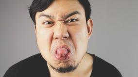 Neckende Zunge lizenzfreies stockfoto