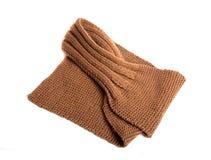 Neckerchief, kerchief isolated. On the white Royalty Free Stock Photo