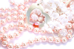 Necklace stock images