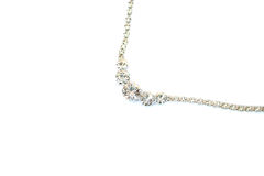 Necklace. Isolated on white background Stock Photography