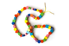 Necklace from beads Stock Photography