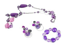 Necklace, Bracelet And Earring Stock Photos