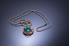 The necklace Stock Photos