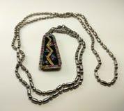 Necklace. Fashion accessory, jewelry, bijou Stock Photos