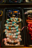 Necklace, jewelry, beads. Royalty Free Stock Image