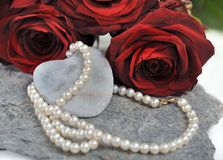 Necklace for lover Royalty Free Stock Photography