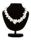 necklace on   mannequin Royalty Free Stock Photography