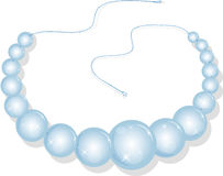Necklace from pearls Stock Image