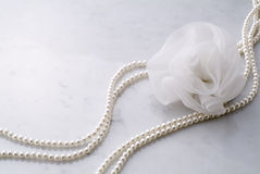 Necklace of pearls Royalty Free Stock Images