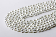 Necklace of pearls Royalty Free Stock Image