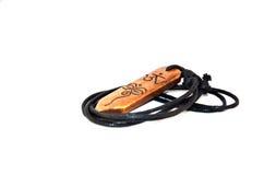 Necklace and pendant Amulet wisdom eyes Nepal Style Royalty Free Stock Images