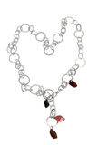 Necklace with stones. Stock Photography