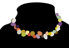 Necklace 06573 Stock Images
