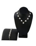 Necklace With Bracelet. Stock Photos
