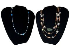 Necklaces Royalty Free Stock Photo