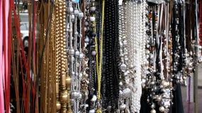 Necklaces. stock photos