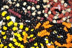 Necklaces and beads Royalty Free Stock Photography