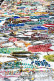 Necklaces at the market Royalty Free Stock Images