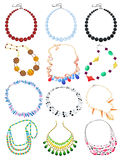 Necklaces Royalty Free Stock Photography
