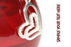 Neckles del cuore Fotografie Stock Libere da Diritti