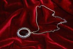 neckless diamant royaltyfria bilder