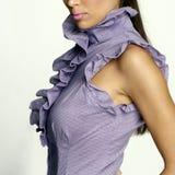 Neckline da mulher 'sexy' Imagem de Stock Royalty Free
