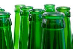 Necks  beer bottles Royalty Free Stock Image