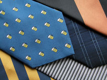 Necktie. Various ties Stock Photo