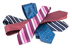 Necktie a bunch Royalty Free Stock Photos