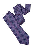 Necktie with Clipping Path. Necktie isolated on white background with clipping path for Father's Day Royalty Free Stock Photography