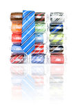 Necktie display Royalty Free Stock Images