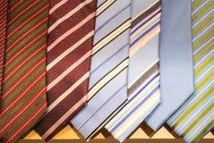 Necktie display Stock Images