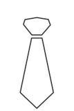 Necktie icon Stock Image