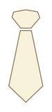 Necktie icon Royalty Free Stock Photos
