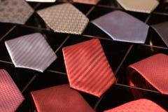Necktie for men in store.  stock photo