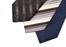 Necktie set Stock Images