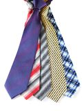 Necktie set Royalty Free Stock Photos