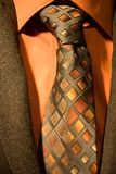 Necktie with shirt and jacket Royalty Free Stock Photos