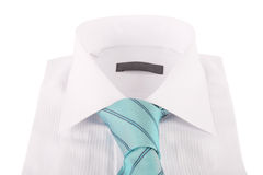 Necktie on a shirt Royalty Free Stock Photography