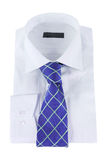 Necktie on a shirt Stock Image