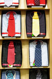 Necktie and shirts Royalty Free Stock Photography