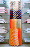 Necktie and shirts. Colorfully necktie and shirts stock photography