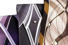 Neckties 1 Royalty Free Stock Images
