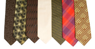 Neckties Royalty Free Stock Images