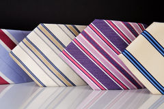 Neckties collection Royalty Free Stock Image