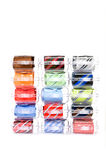 Neckties in gift boxes Royalty Free Stock Photos