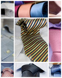 Neckties and shirts Royalty Free Stock Photo