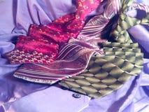 Neckwear royaltyfria foton